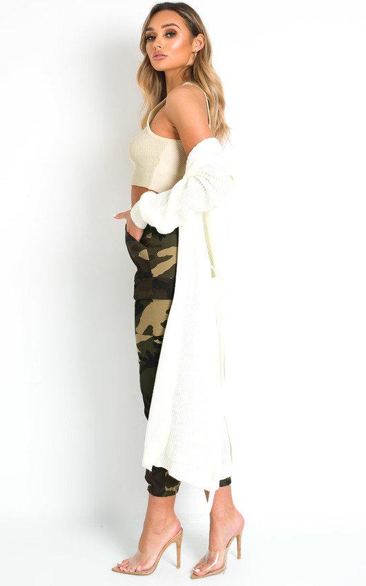 Mav Longline Knitted Cardigan