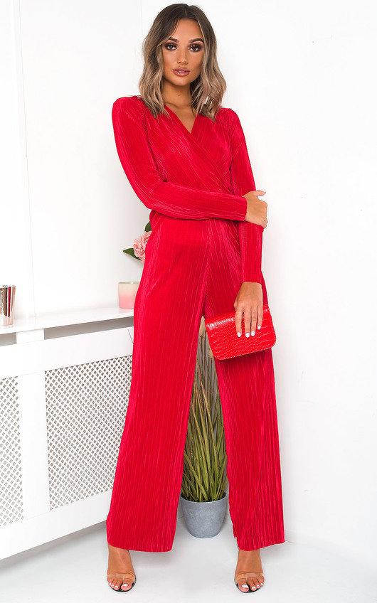 Maxi Long Sleeve Slinky Jumpsuit