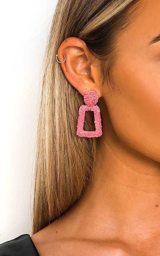 May Statement Mini Drop Earrings
