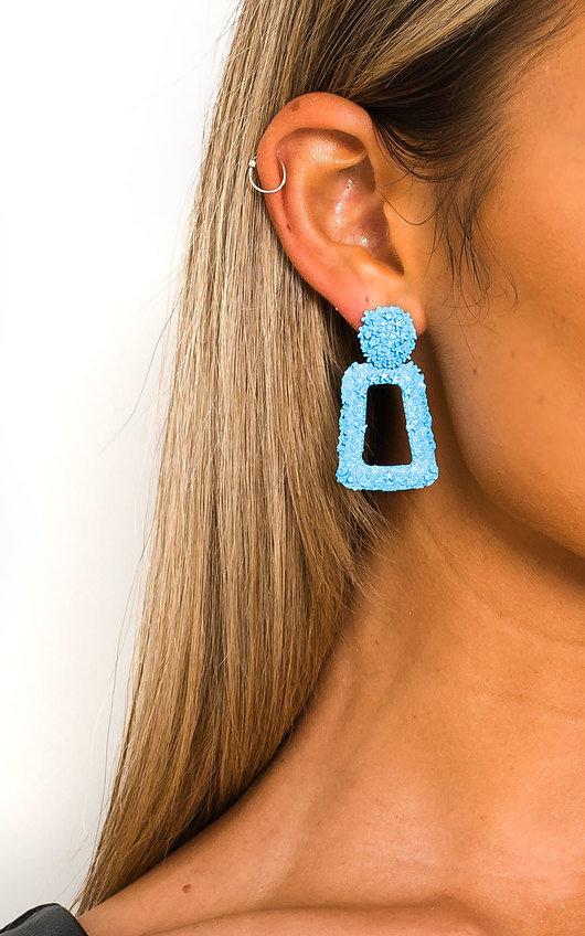 May Statement Mini Drop Earrings