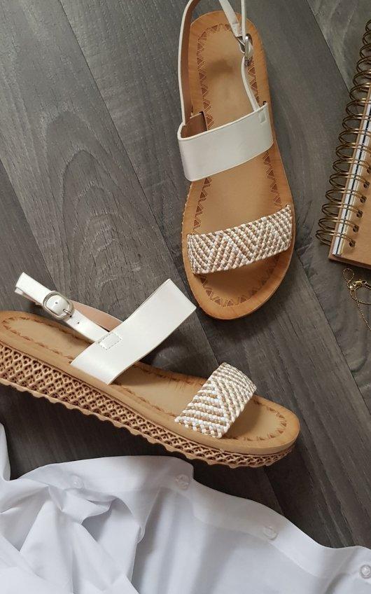 Mel Wedged Sandal