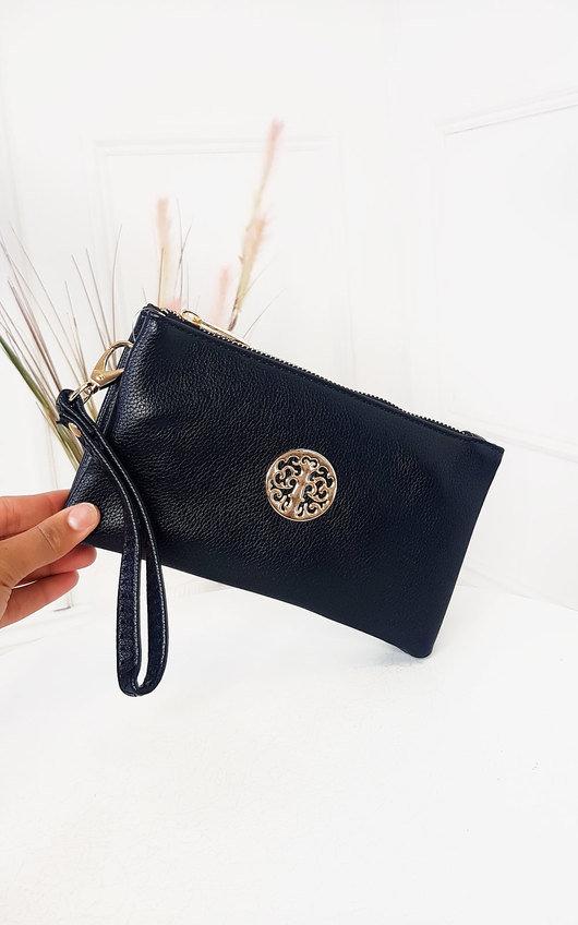 Mel Zip Pouch Bag