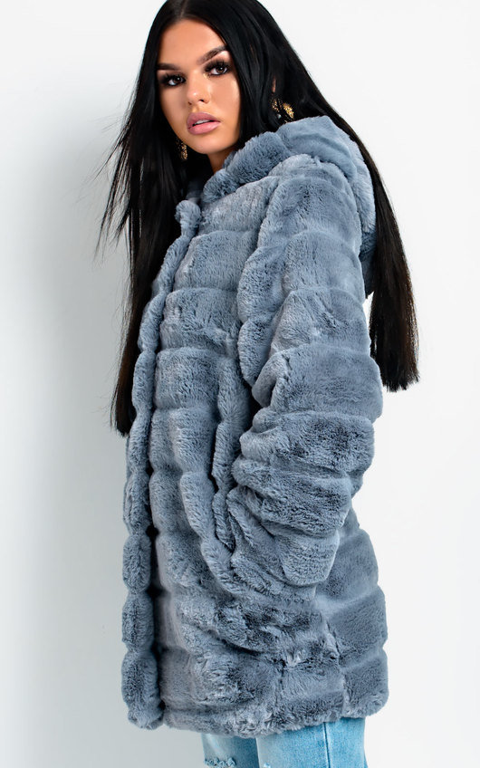 Melisa Faux Fur Coat