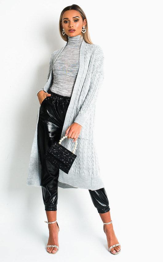 Melissa Longline Knitted Cardigan