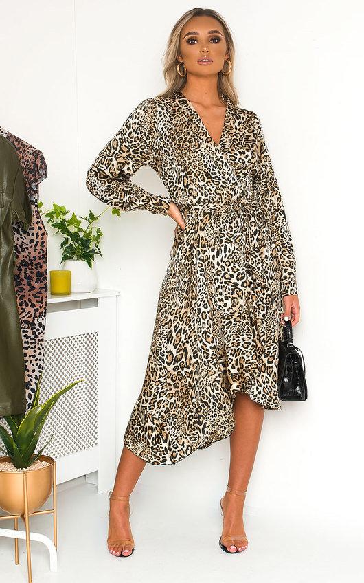 Melly Animal Print Maxi Dress