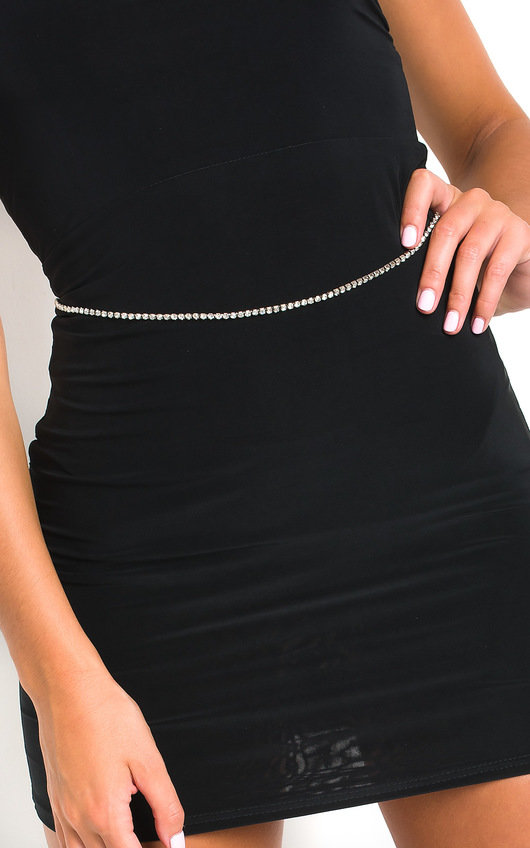 Mia Diamante Chain Belt