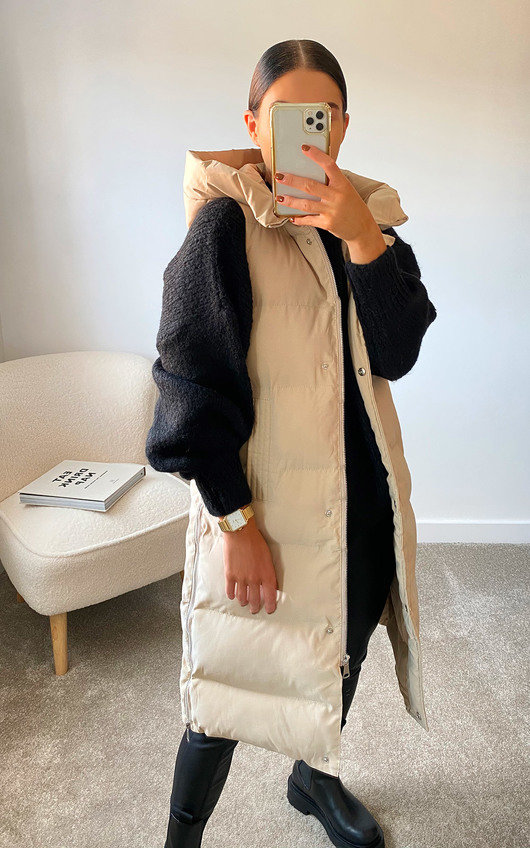 Mia Sleeveless Puffer Jacket