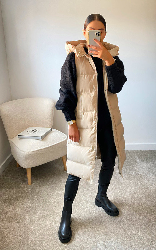 Mia Sleeveless Puffer Jacket