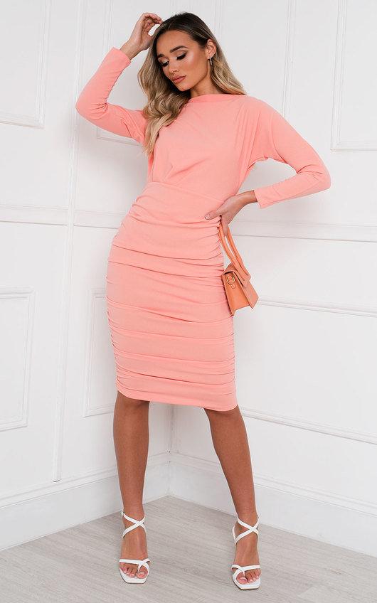 Michelle Bodycon Midi Dress