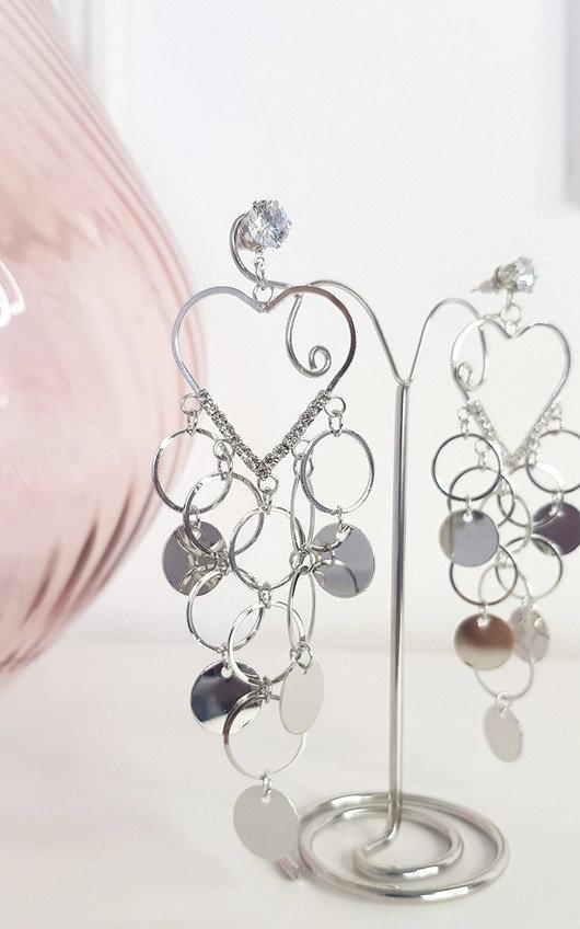 Mickey Heart Hoop Earrings