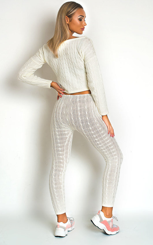 Mika Cable Knit Lounge Co-ord