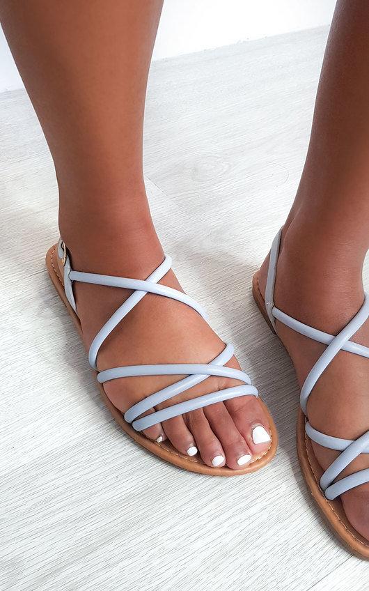 Millie Strappy Flat Sandals