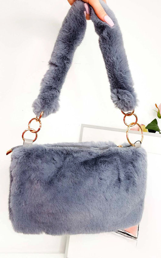 Mills Fluffy Shoulder Bag