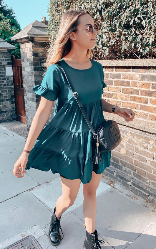 Milly Frill Shift Dress