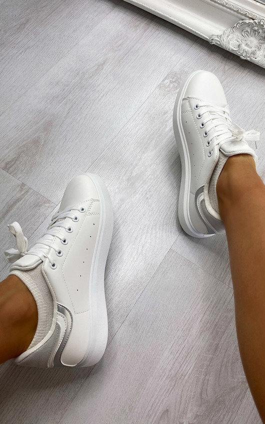 Mimi Lace Up Trainers