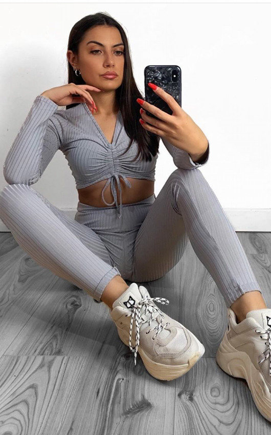 Mira Ribbed Lounge Co-ord