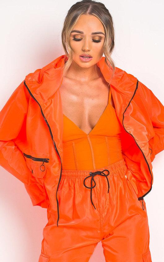 Mirrin Neon Mesh Bodysuit