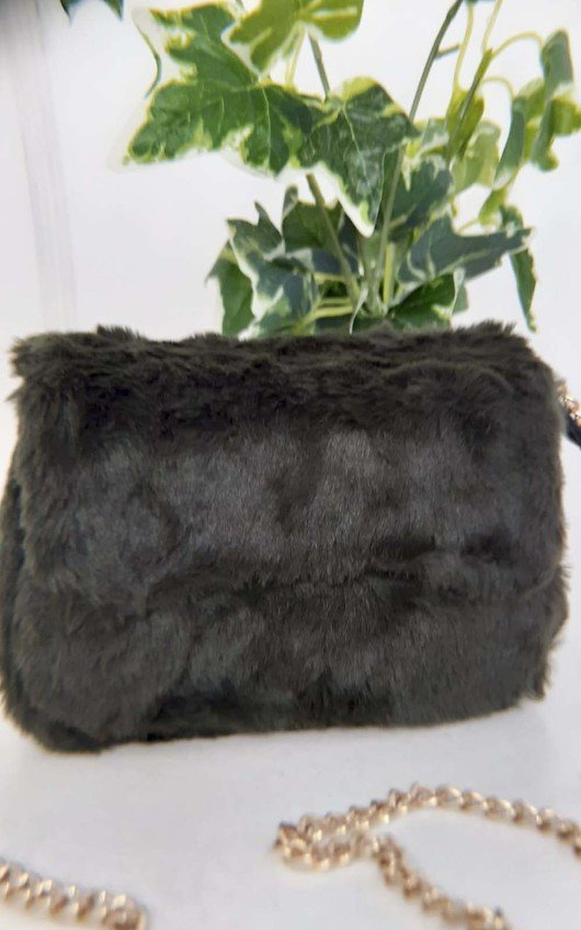 Misha Fluffy Shoulder Bag