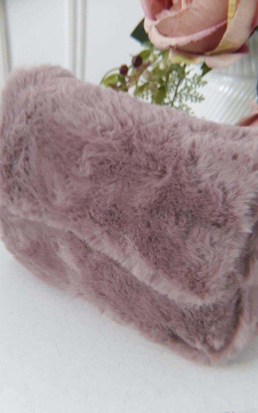 Misha Fluffy Shoulder Bag