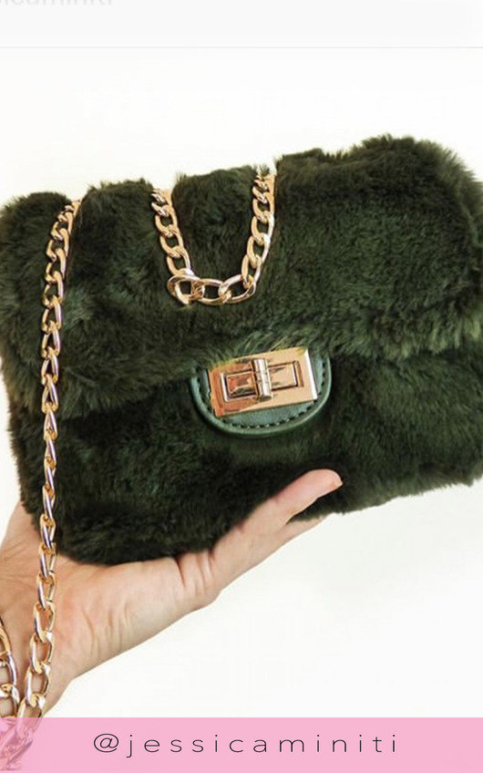 Mishti Fluffy Shoulder Bag
