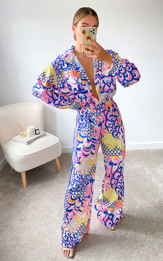 Molly Printed Jumpsuit