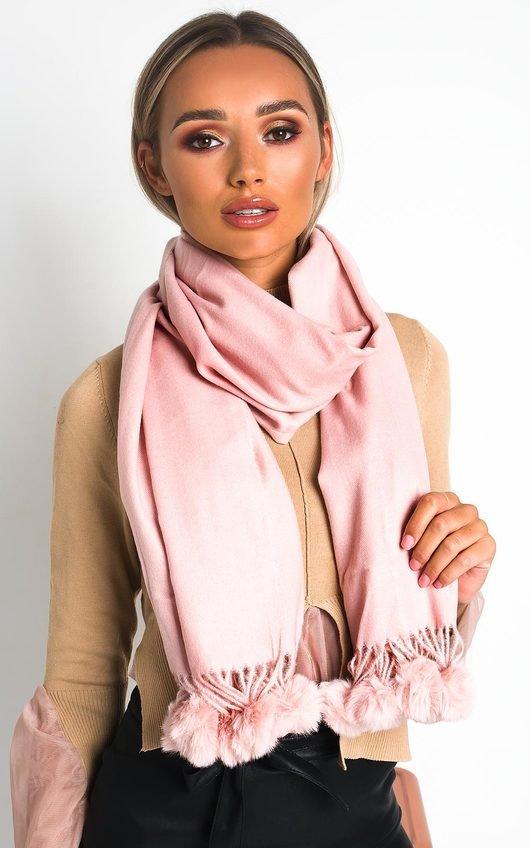 Mona Pom Pom scarf
