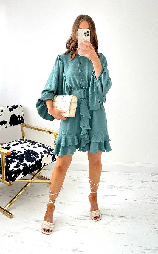 Mona Ruffle Dress