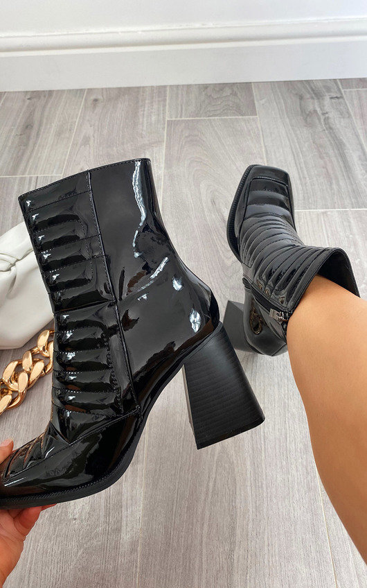 Monikh Heeled Ankle Boots
