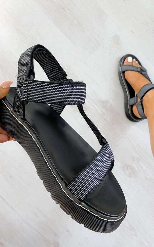 Monikh Strappy Velcro Sandals