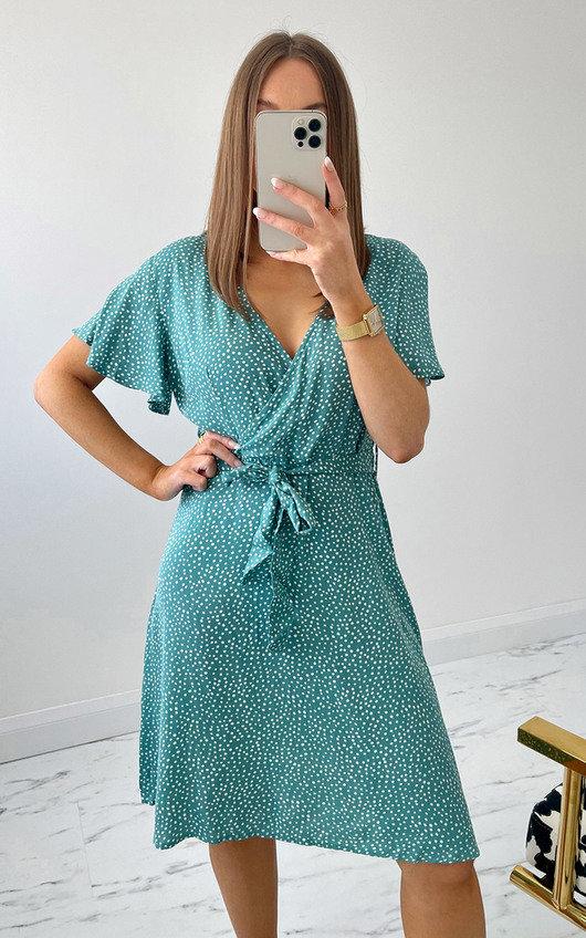 Montana Printed Mini Dress