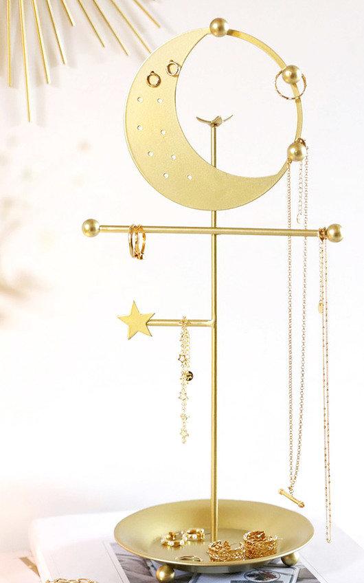 Moon and Stars Jewellery Holder