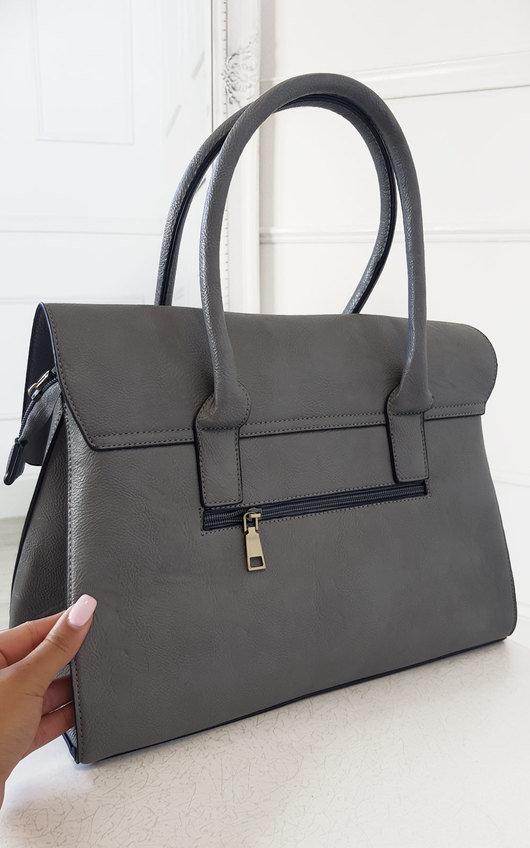 Mulba Faux Leather Handbag