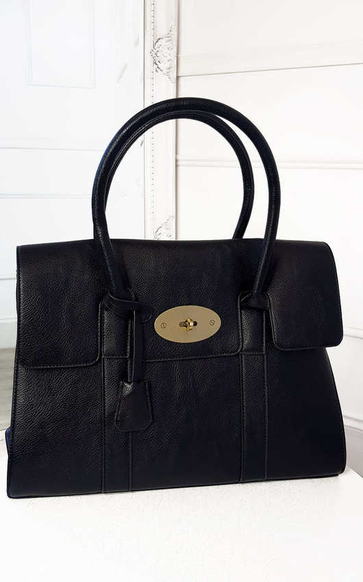 Mulba Faux Leather Handbag