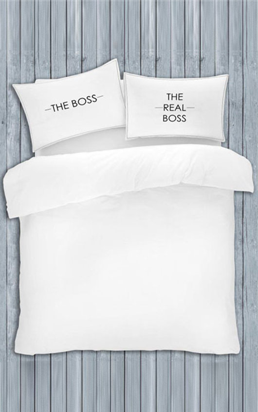 My Side and Your Side Pillowcases