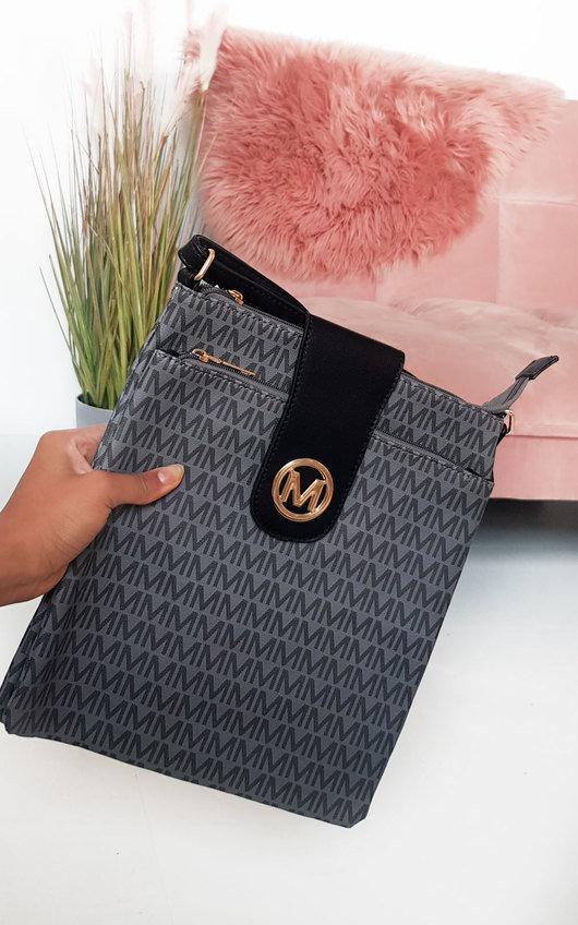Mya Patterned Shoulder Bag