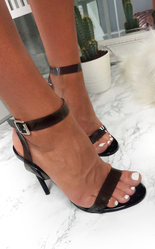 Myla Perspex Barely There Heels