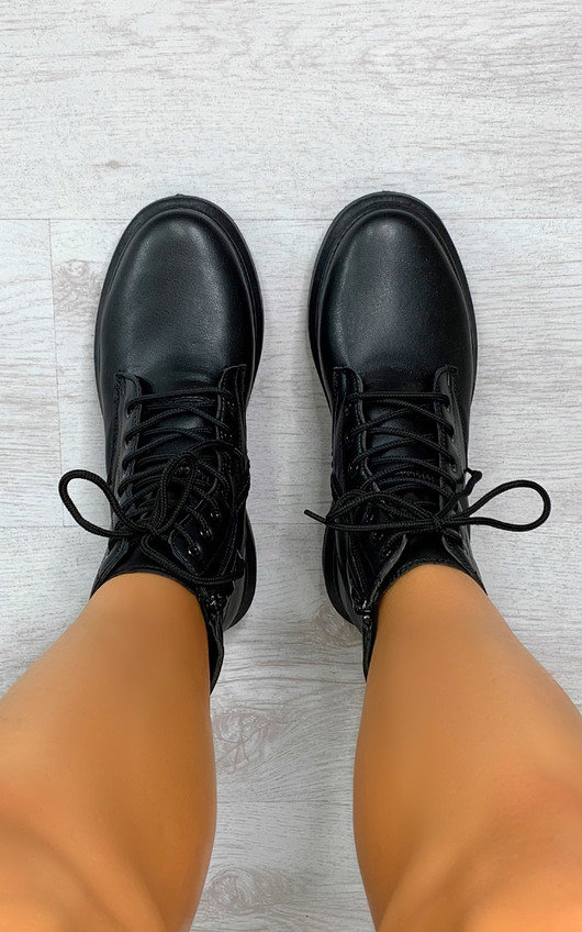 Nadine Lace Up Boots