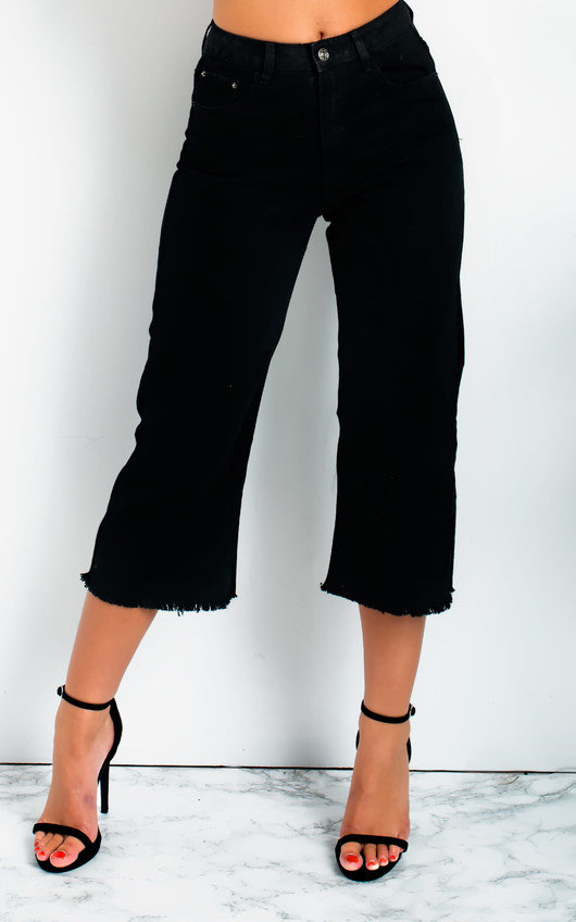 Nadine Mid Rise Cropped Flared Jeans
