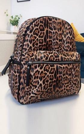 Nalia Faux Leather Backpack Bag