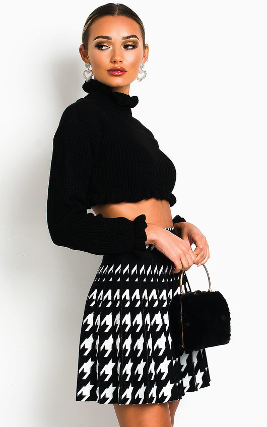 Nancy Chunky Knitted Crop Jumper