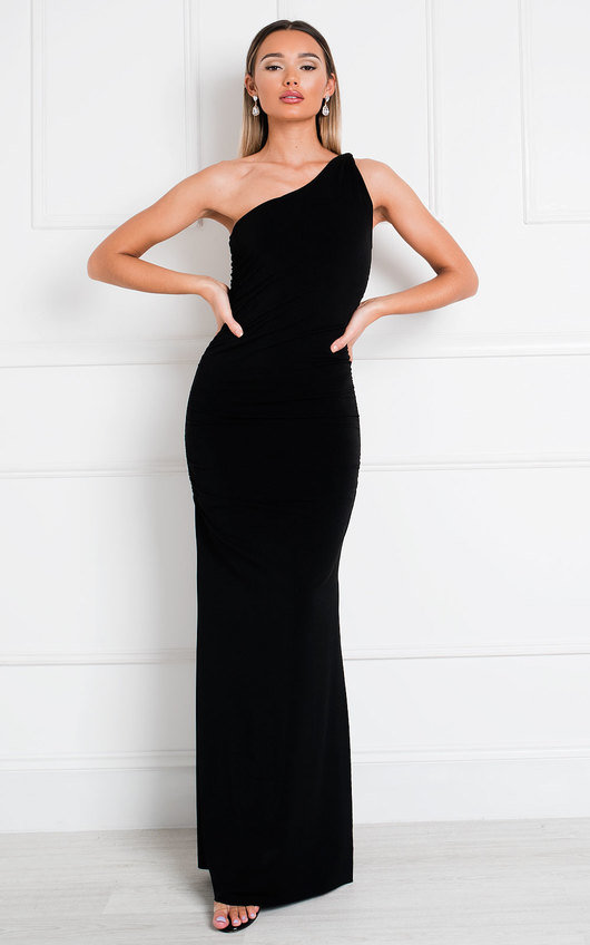 Naomi One Shoulder Bodycon Maxi Dress