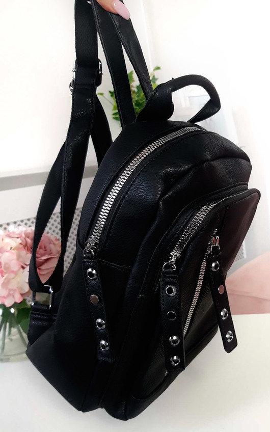 Naya Faux Leather Backpack Bag