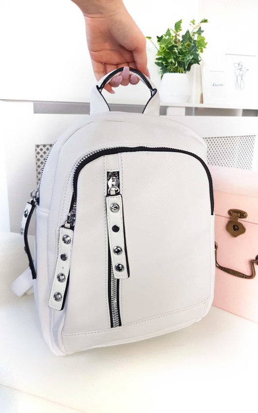 Naya Faux Leather Backpack Bag