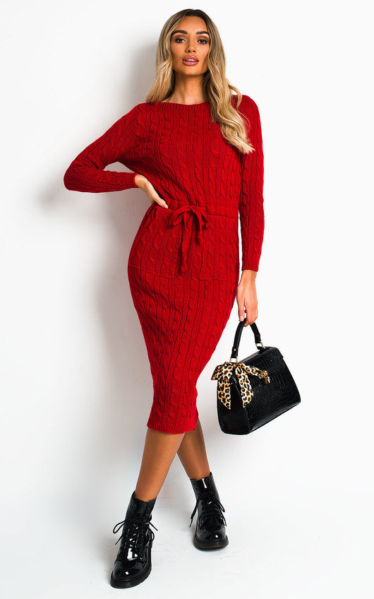 Naya Knitted Maxi Jumper Dress