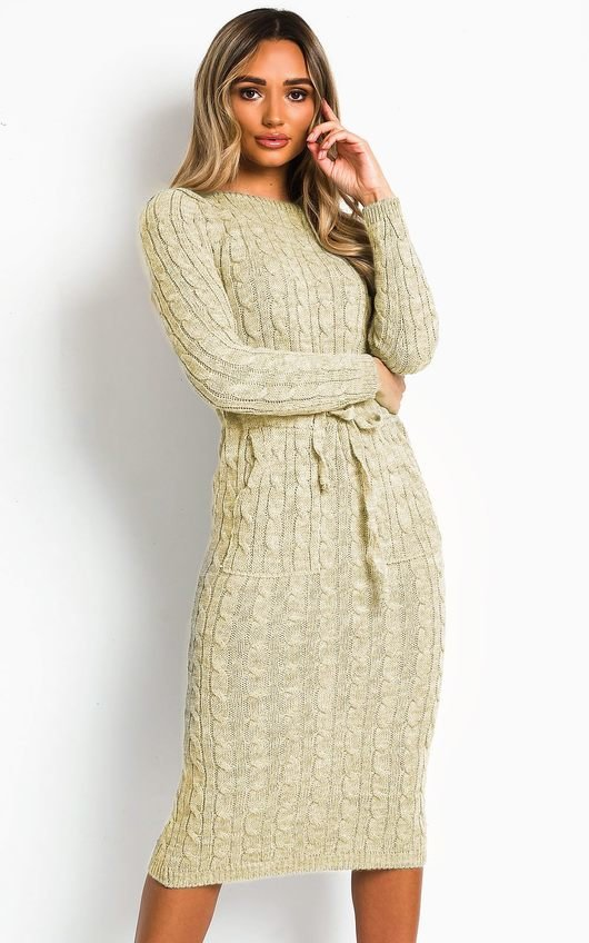 Naya Knitted Maxi Jumper Dress