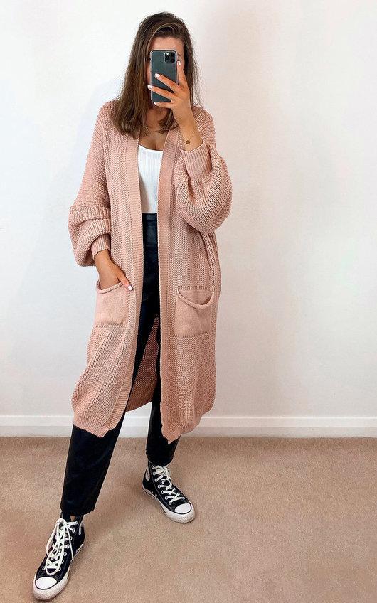 Naya Longline Knitted Cardigan