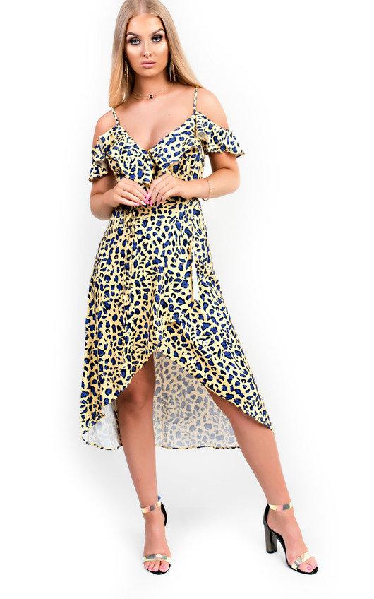 Neela Printed Midi Dress