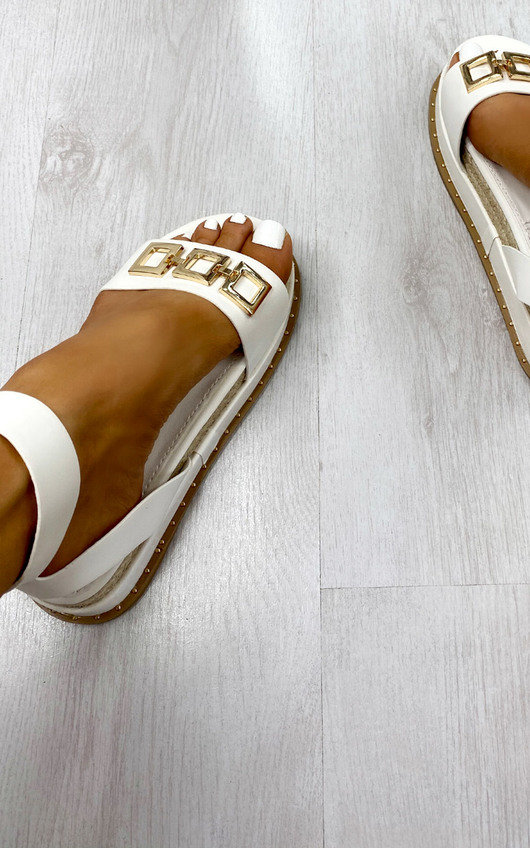 Nell Buckle Sandals
