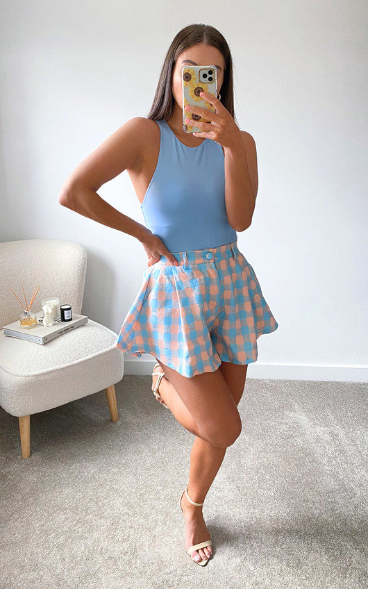 Nell Flared Shorts