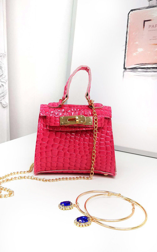 53b60db98d8b Nelly Micro Mini Bag in Pink | ikrush